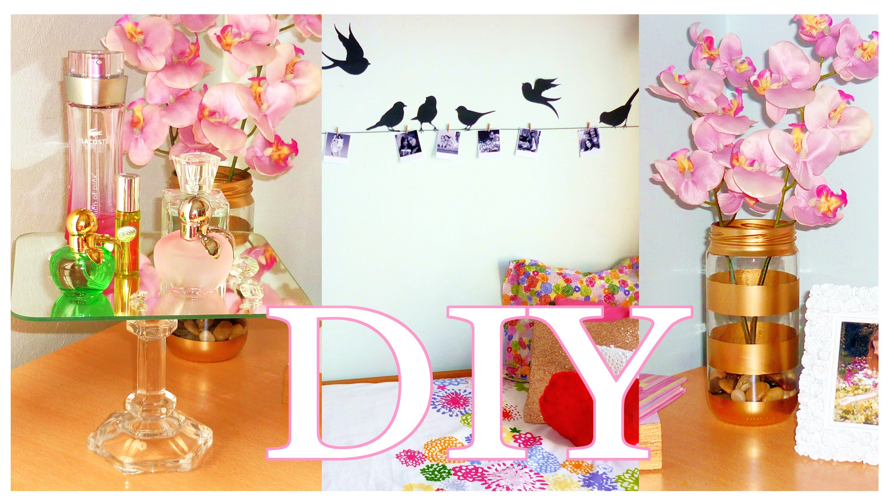 DIY ROOM DECOR – Cheap & cute projects   LOW COST ideas!